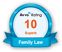 Avvo Rating - 10 - Superb - Family Law