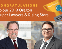 MI Attorneys Listed in 2019 Oregon Super Lawyers