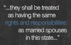 Quote on WA State marriage equality laws